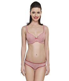 Inner Sense Organic Antimicrobial Cushioned Bra &Panty Set