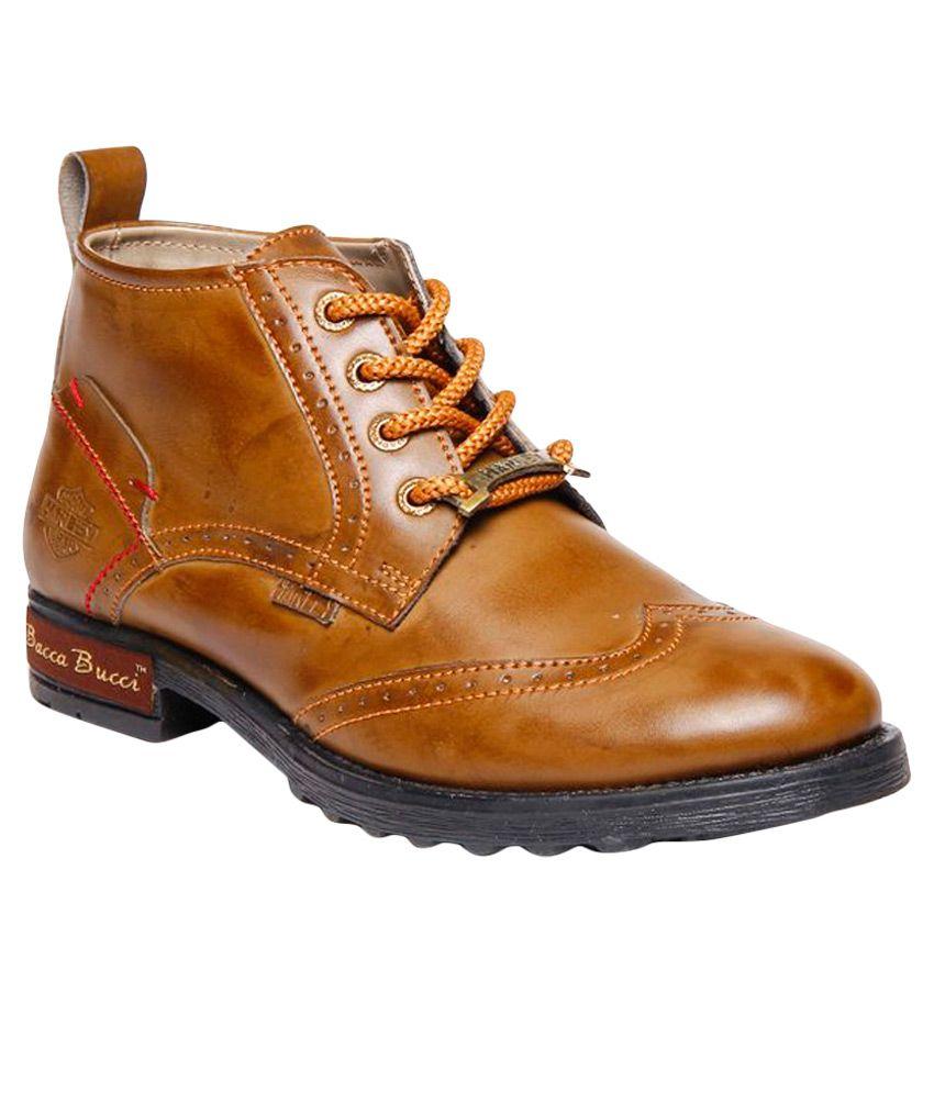 Bacca Bucci Tan Casual Boot