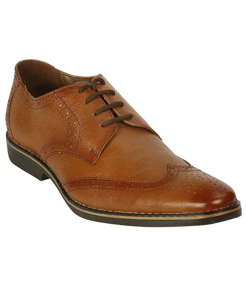 0f5a8ea30ee Bacca Bucci Tan Formal Shoes Price in India- Buy Bacca Bucci Tan Formal  Shoes Online at Snapdeal
