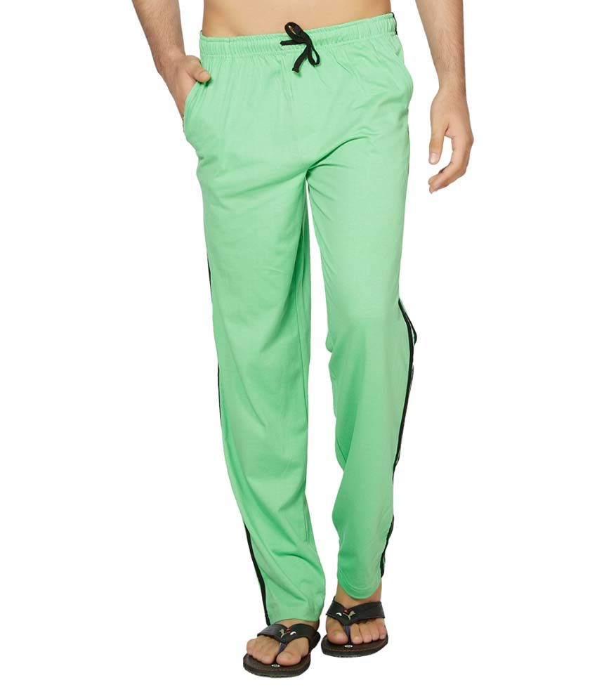 Clifton Fitness Men's Coloured Track Pants -Green
