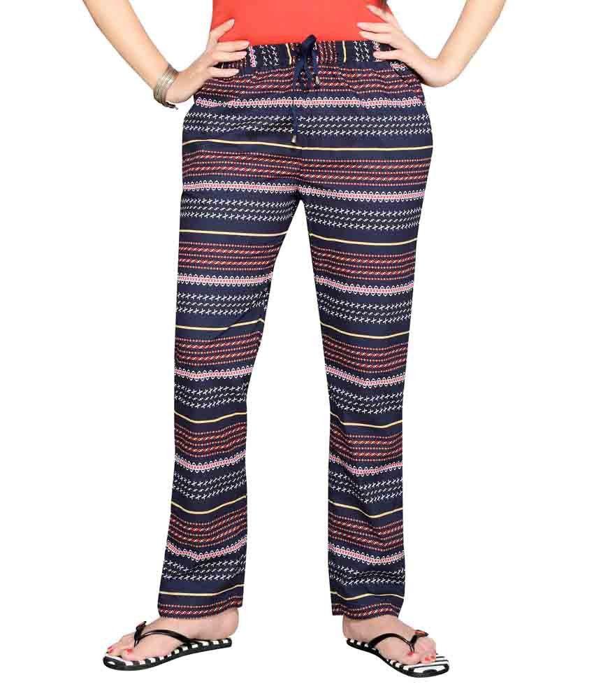 F-Loop Multi Color Cotton Pajamas