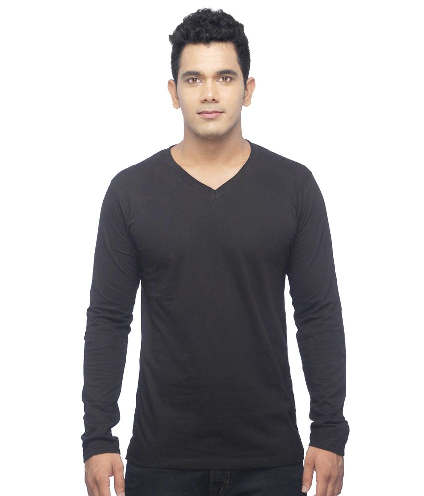 UK Tribes Black V-Neck T Shirts