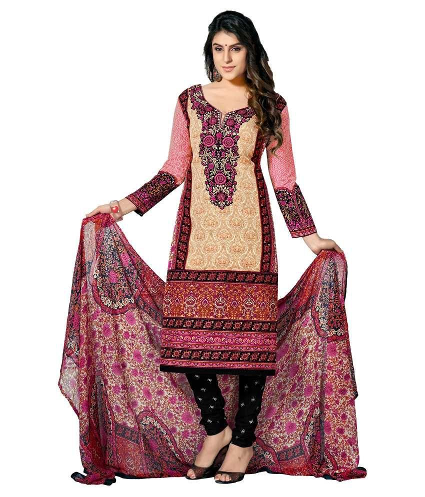 Women Latest Fancy Designer Salwar Suit Multicoloured Others
