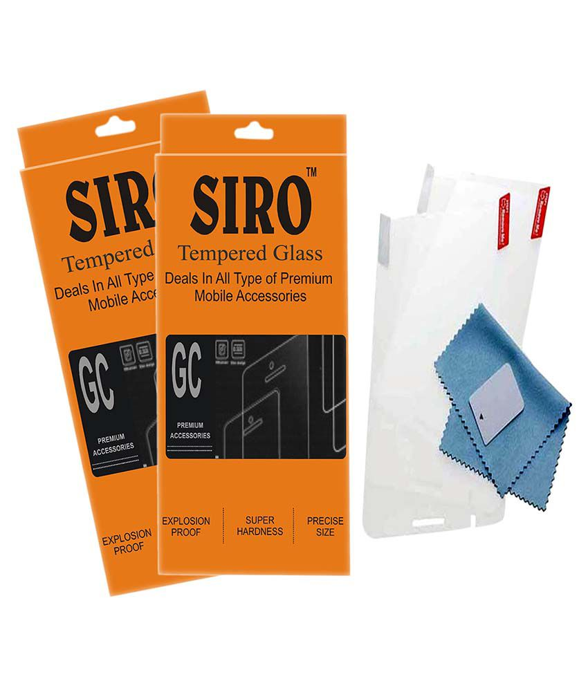 Gionee Elife E7 Tempered Glass Screen Guard by Siro