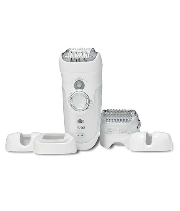 Braun Silk Epil 7681 Wet & Dry Epilator- White
