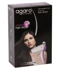 Agaro HD-6501 White Hair Dryer