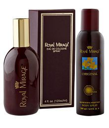 Royal Mirage 100 ml EDC Perfume & 150 ml Deo Combo