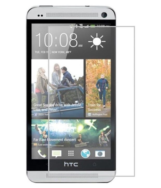 HTC One Dual Sim Tempered Glass Screen Guard by Affix