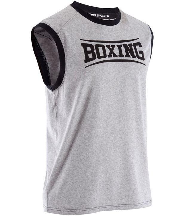 DOMYOS Boxe Adult Boxing Tank By Decathlon