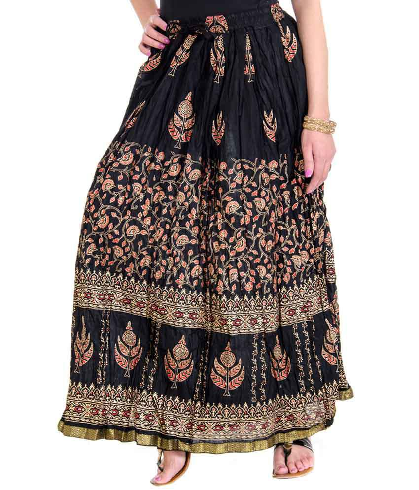 Home Shop Gift Cotton Broomstick Skirt. Buy Home Shop Gift Cotton Broomstick Skirt Online at Best Prices