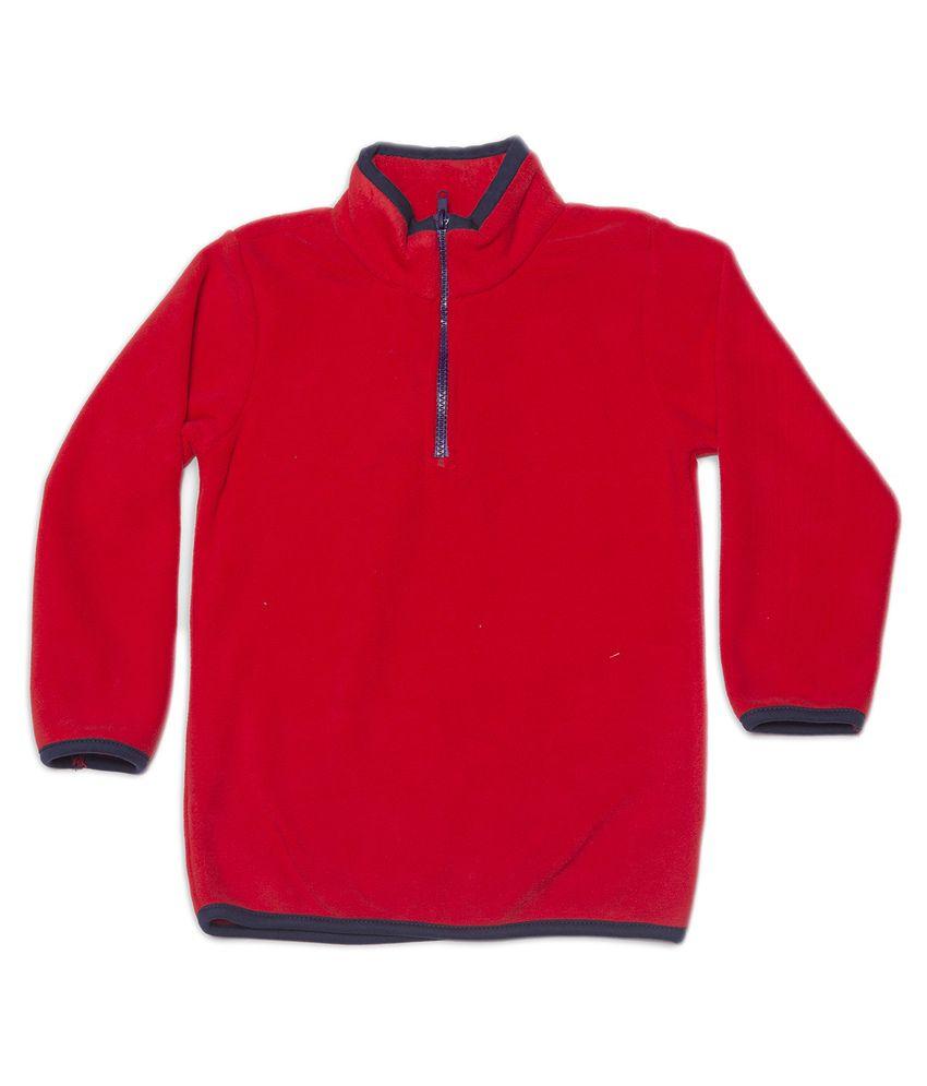 Nino Bambino Red Sweatshirt