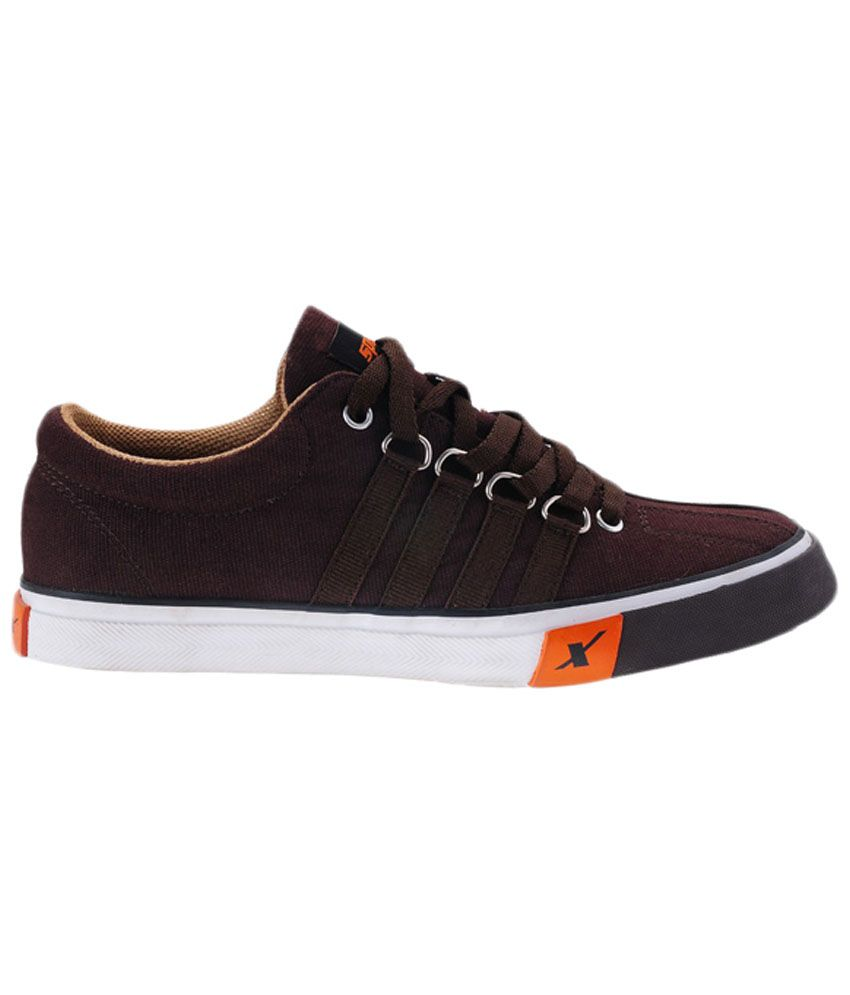 Sparx Brown Sneaker Shoes