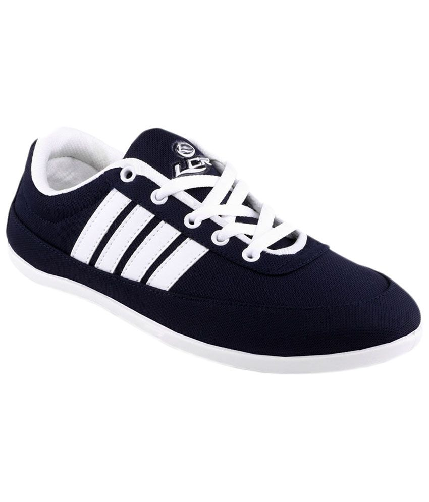 Navy Blue Canvas Shoes India