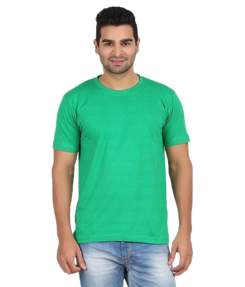 Denovo Green Round T Shirts
