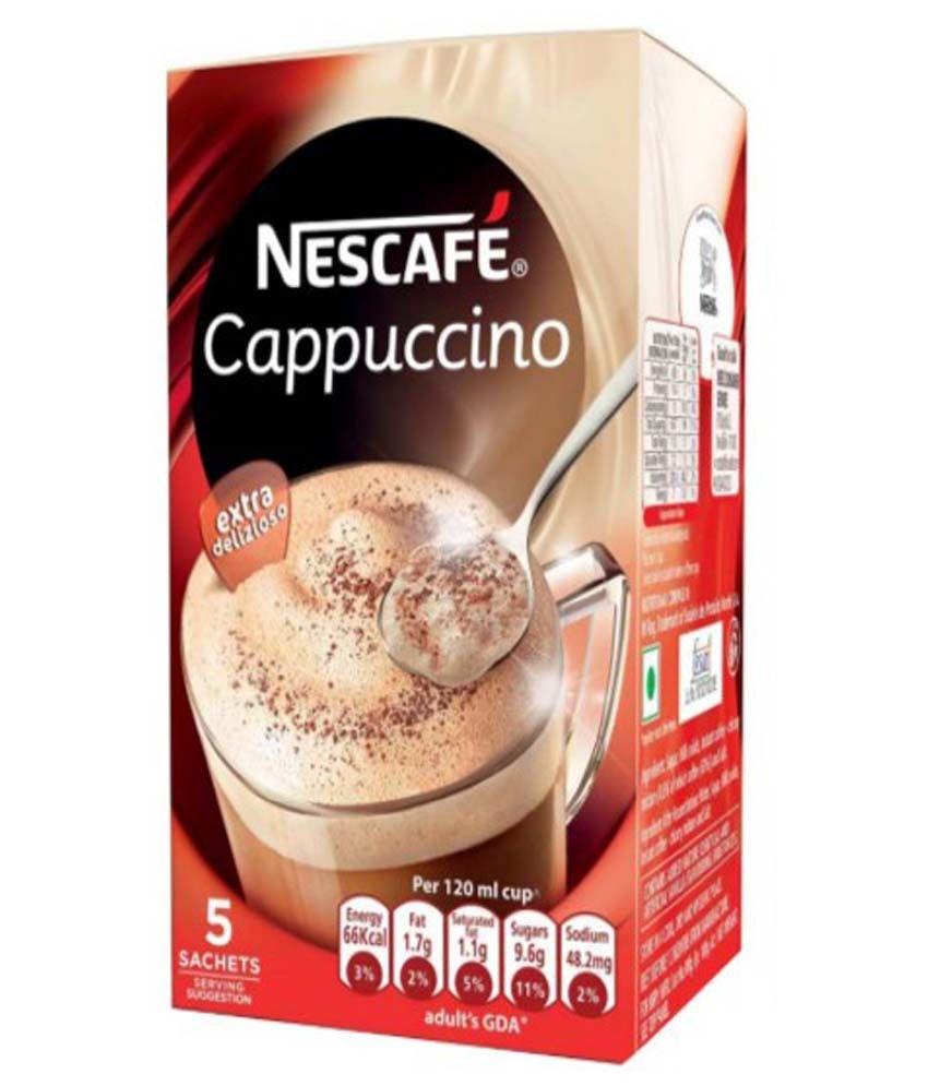 Nescafe mocha sachets india