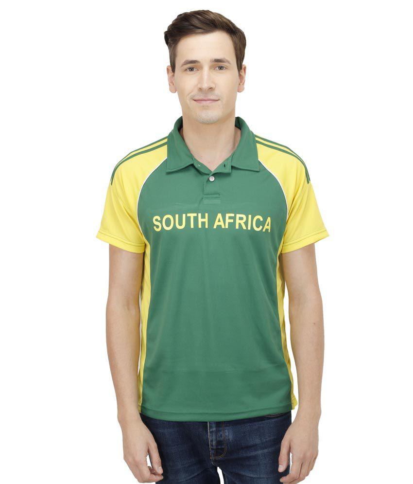 T10 Sports Green T Shirts