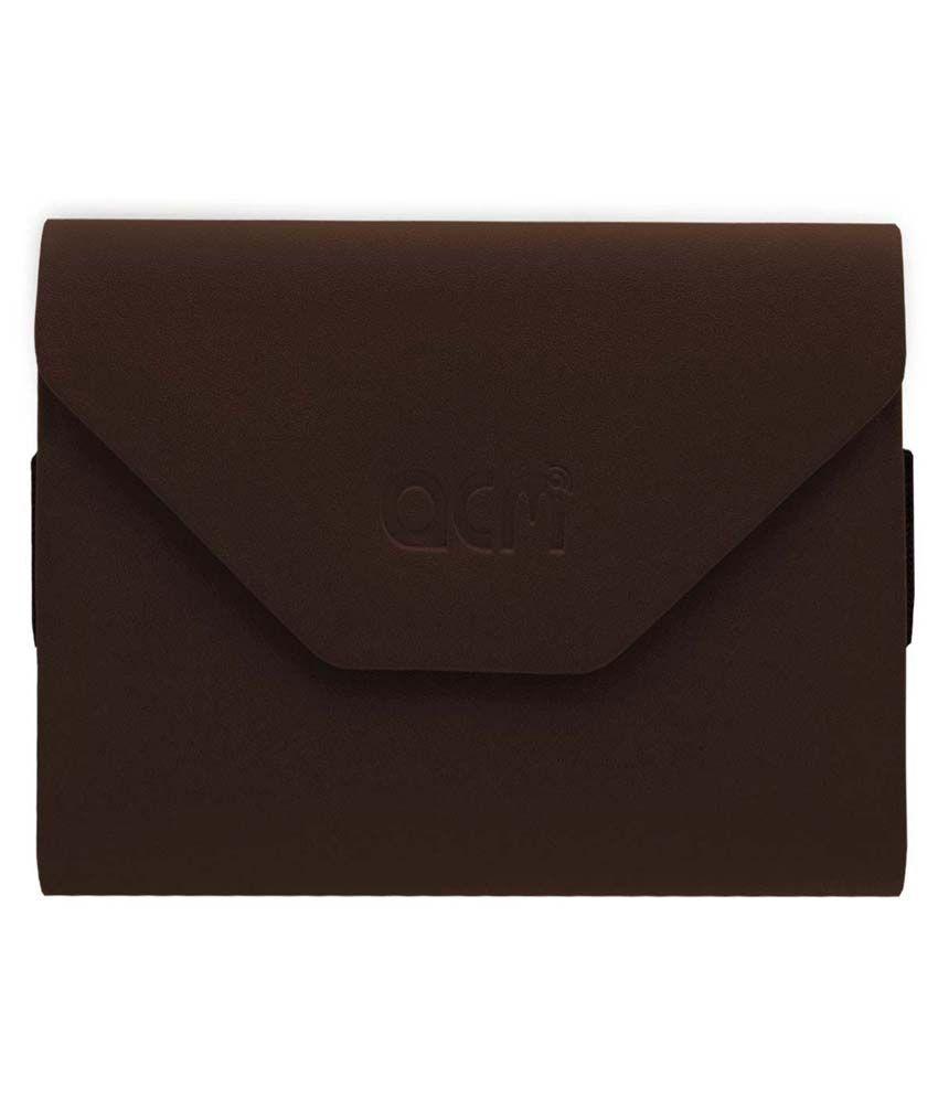 ACM Flip Cover for iBall Slide 3G I80 - Brown