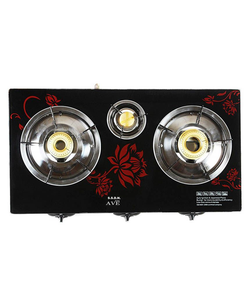 Surya AV0005 Automatic Gas Cooktop (3 Burner)