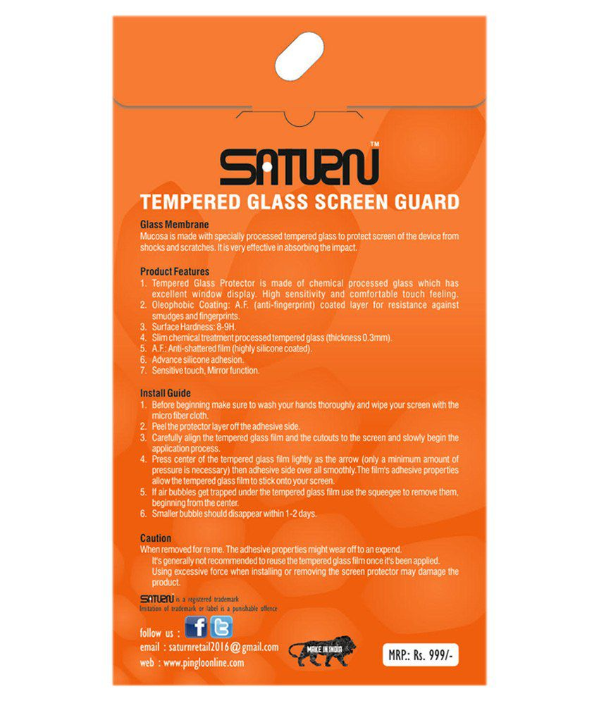 Samsung Galaxy Win I8550 Tempered Glass Screen Guard by SATURN
