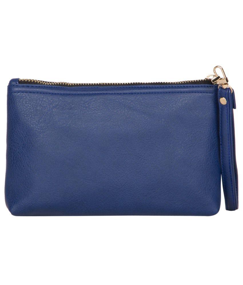 Scoopstreet Blue Synthetic Vanity Kit