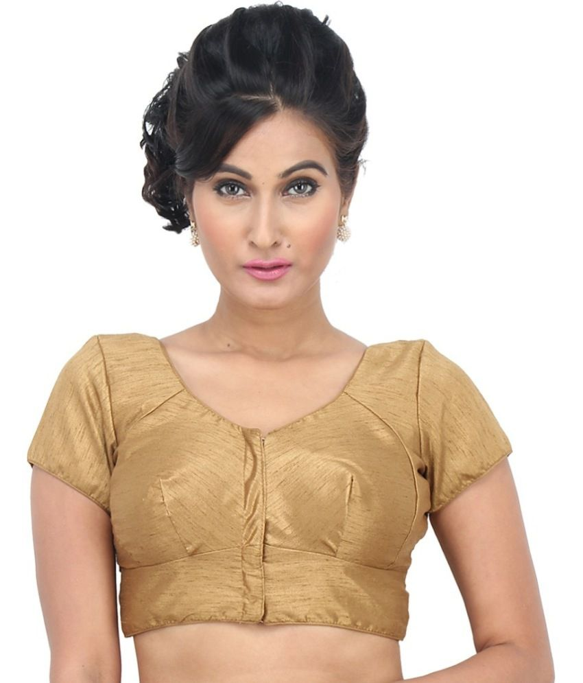e432f6b37b Vamas Gold Silk Blouses - Buy Vamas Gold Silk Blouses Online at Low Price -  Snapdeal.com