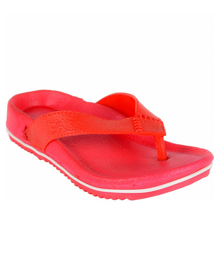 245b421e1 Ys Global Red Rubber Flip Flops For Kids Price in India- Buy Ys Global Red  Rubber Flip Flops For Kids Online at Snapdeal