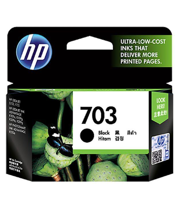 HP Deskjet 703 Black Ink Cartridge