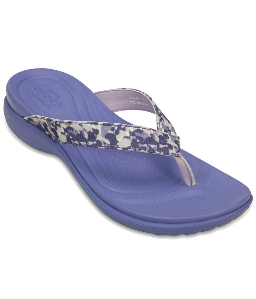 Crocs Beige Slippers & Flip Flops Relaxed Fit