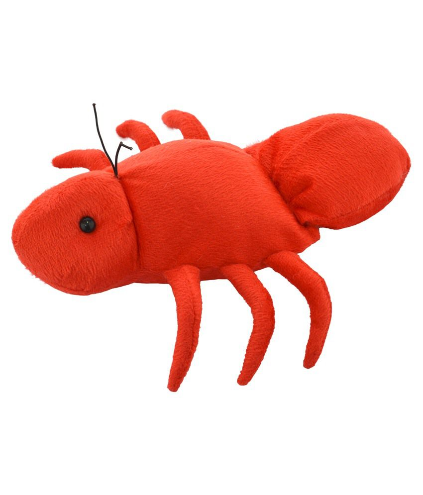 Cuddly Toys Cuddly Toys Red Polyester Insect Ant Hand Puppet