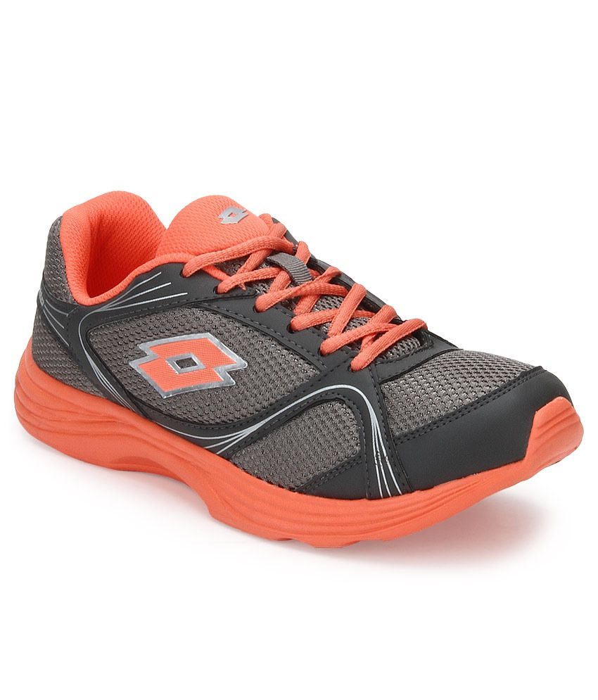 Lotto Gray Running Sports Shoes