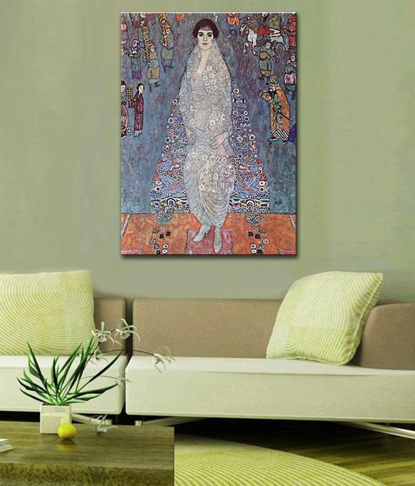 Tallenge Baroness Elizabeth By Gustav Klimt Rolled Canvas Art Print