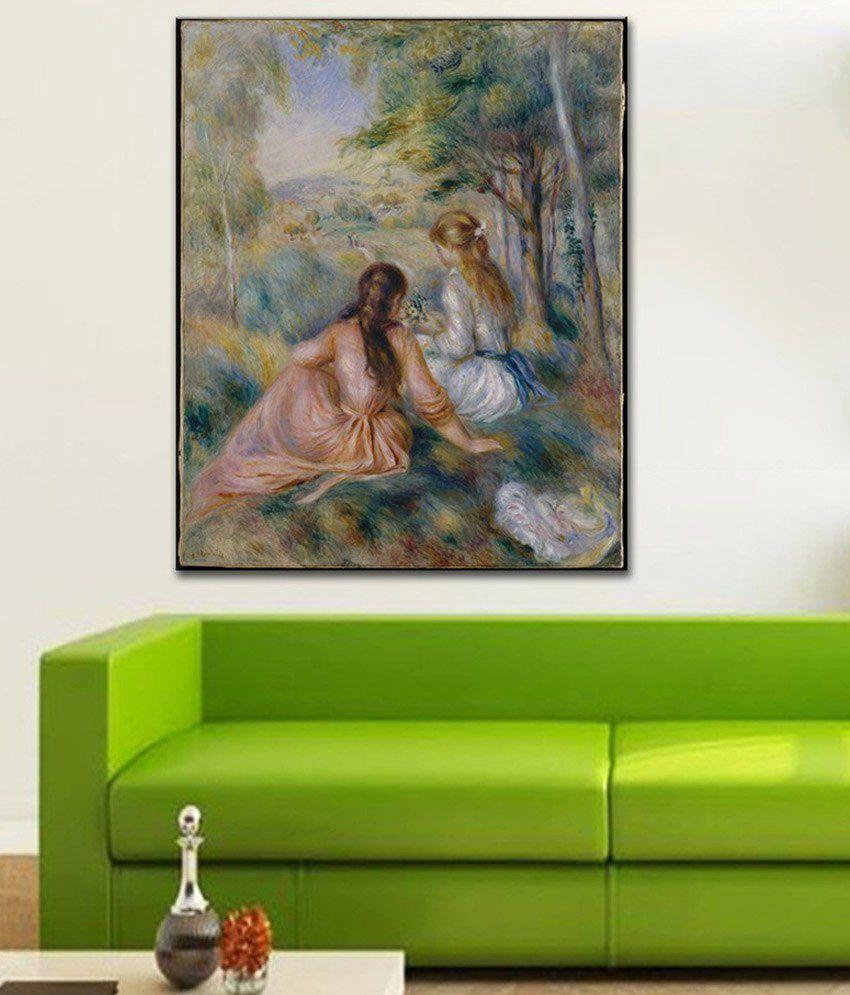 Tallenge Meadow By PierreAuguste Renoir Gallery Wrap Canvas Art Print