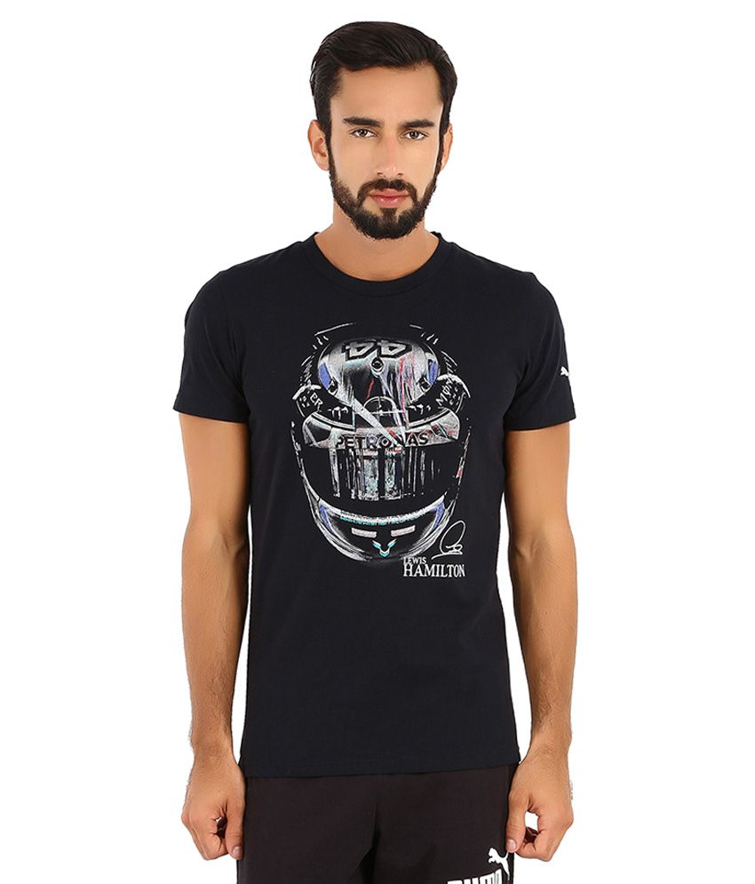 7db1006dd37 Puma Black Mercedes AMG Petronas T Shirt - Buy Puma Black Mercedes AMG  Petronas T Shirt Online at Low Price in India - Snapdeal