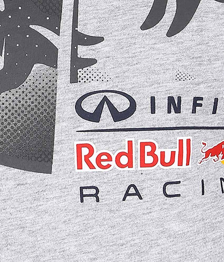 75100514cf7 Puma Gray Infiniti Red Bull Racing T Shirt - Buy Puma Gray Infiniti ...