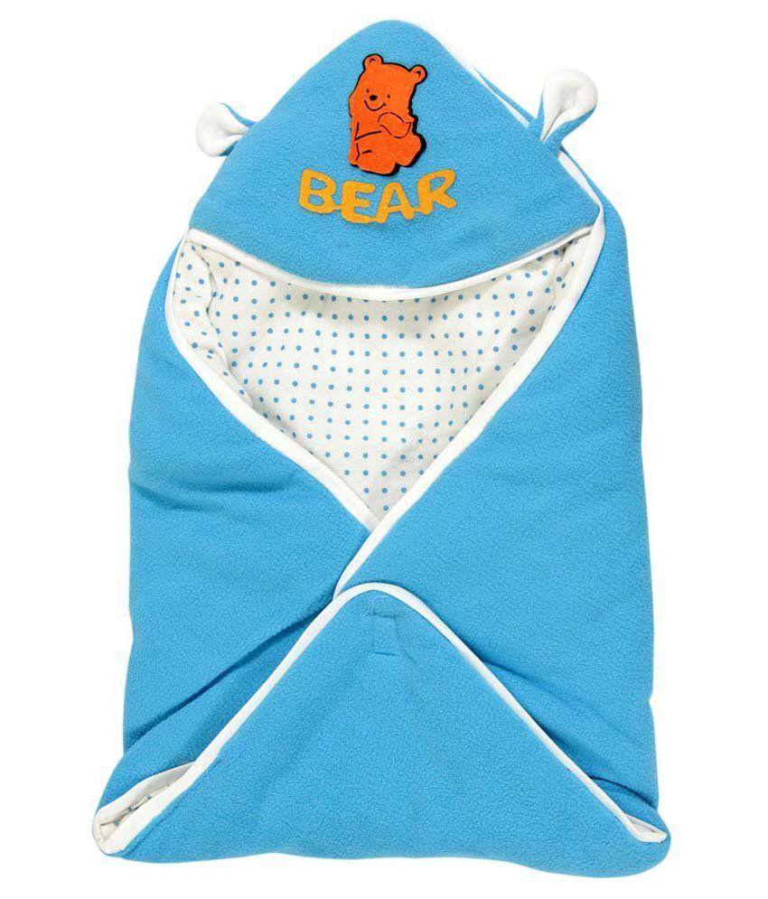 Casa Confort Blue Cotton Baby Wrap