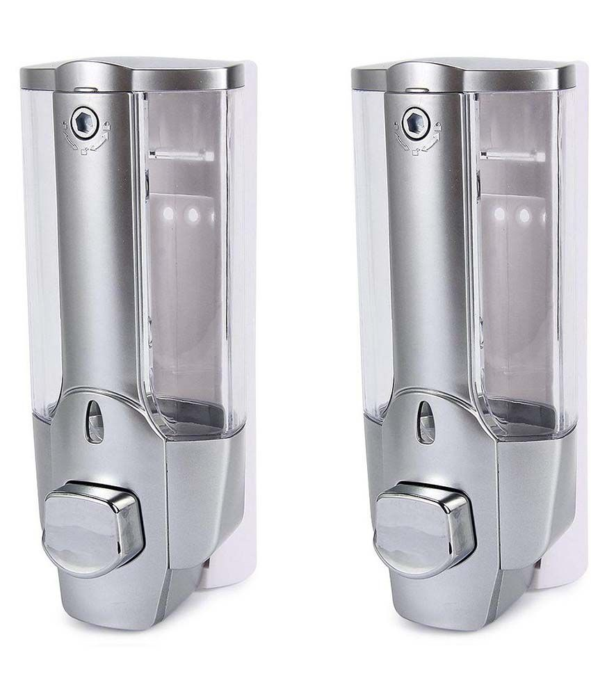 Uncategorized Snapdeal Kitchen Appliances Coupons buy selfee silver 350ml liquid soap dispenser pack of 2 online 2