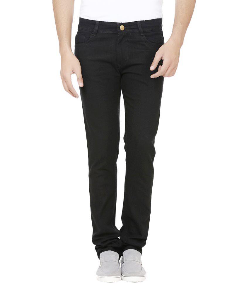 Storm Black Regular Fit Jeans