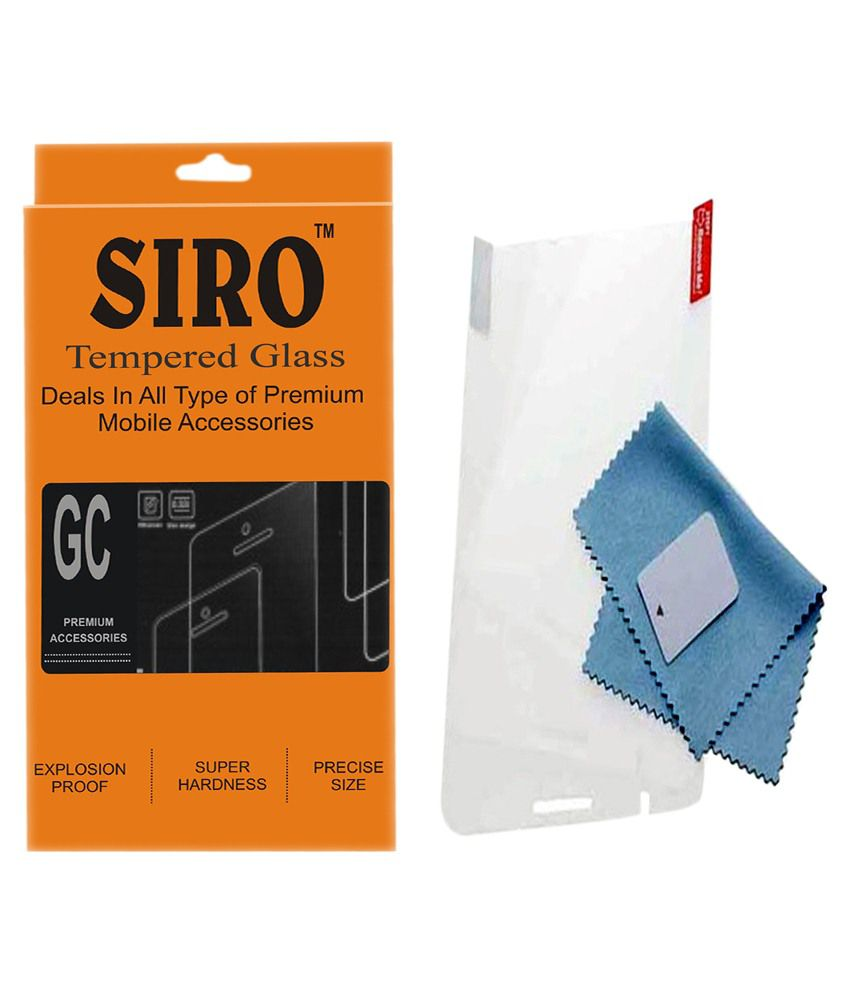 Micromax Canvas Hue 2 Tempered Glass Screen Guard by Siro