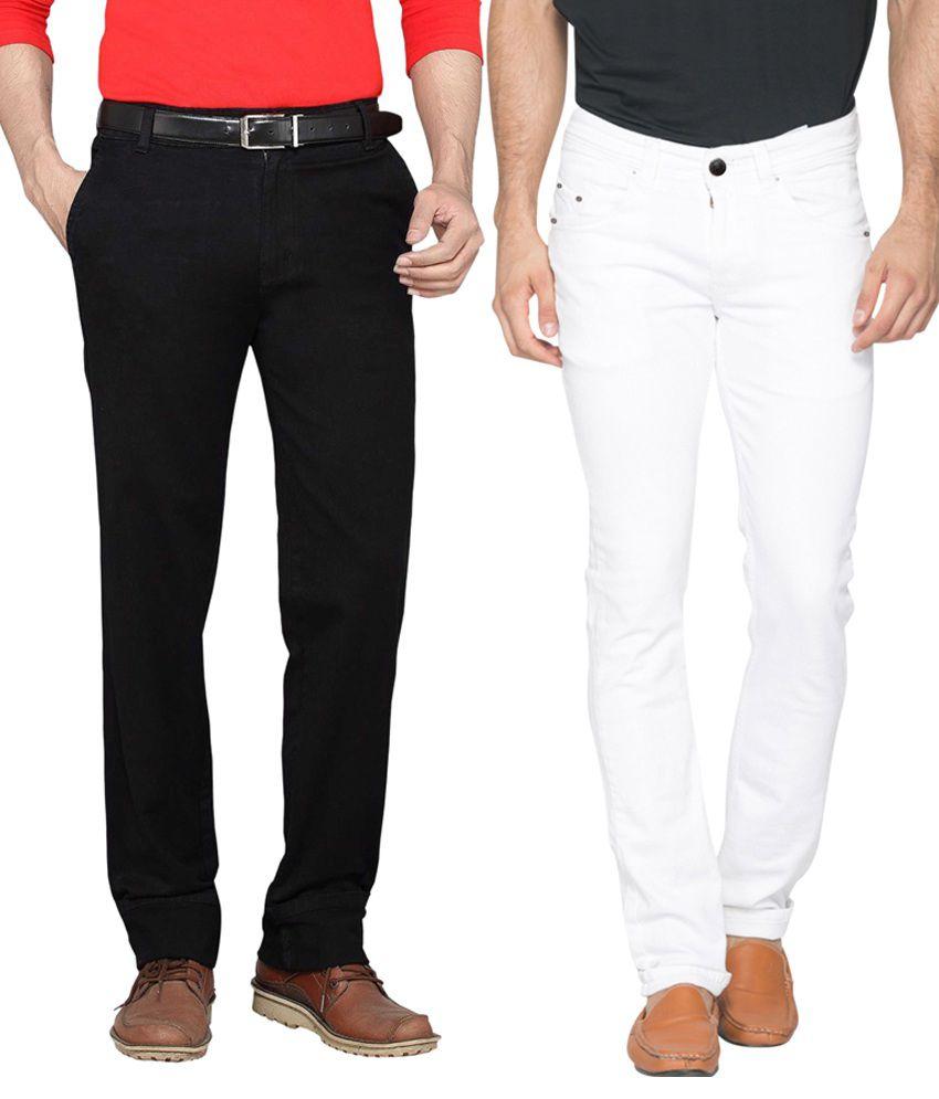 Haltung White Slim Fit Jeans