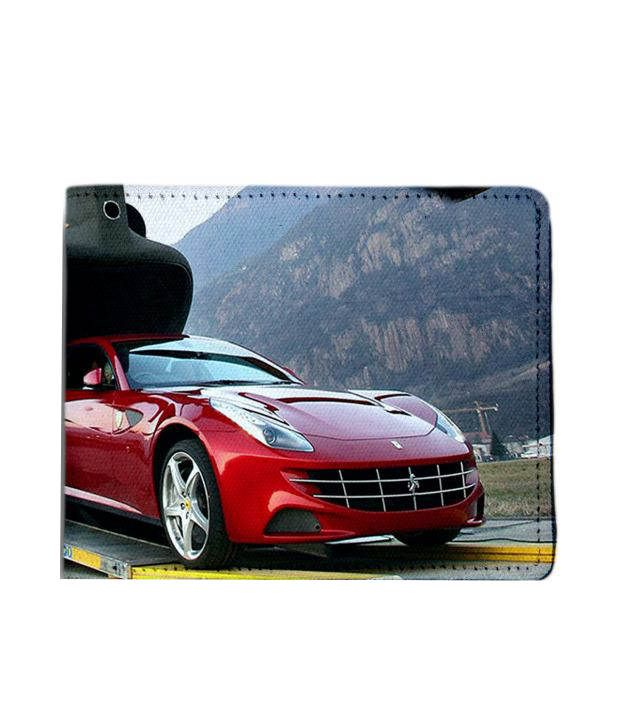 Ferrari Starting Price: ShopMantra Red And Grey Canvas Ferrari From Helicopter