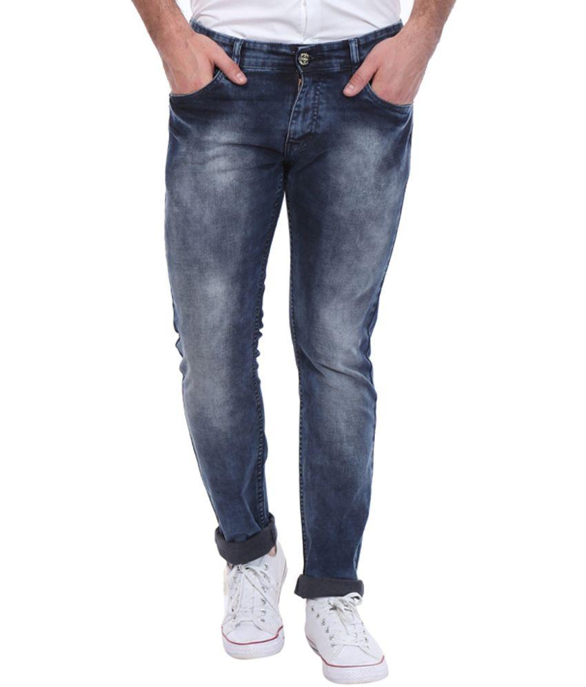 Bandit Blue Skinny Fit Jeans