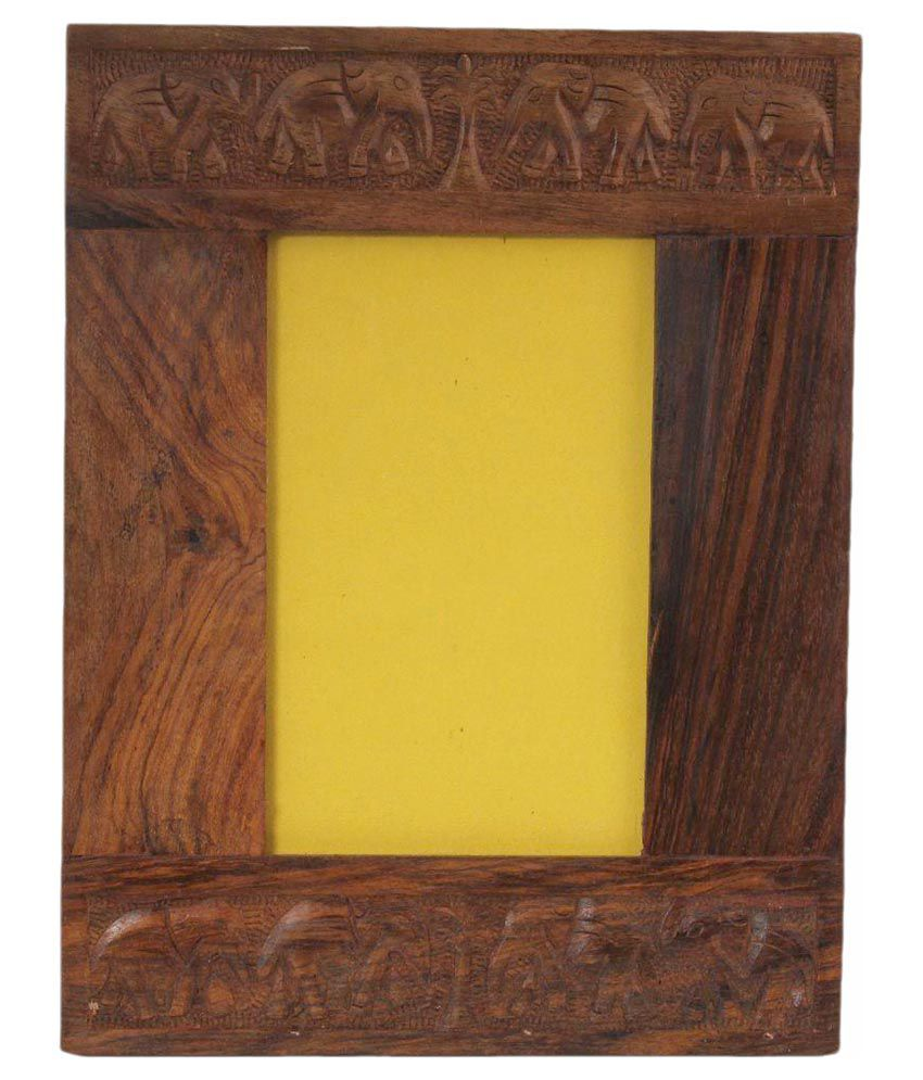 Craft Art India Handmade Carved Wooden Photo Frame For Photos ...