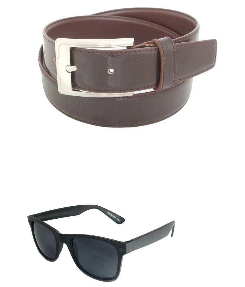 SFA Brown Formal Belt For Men