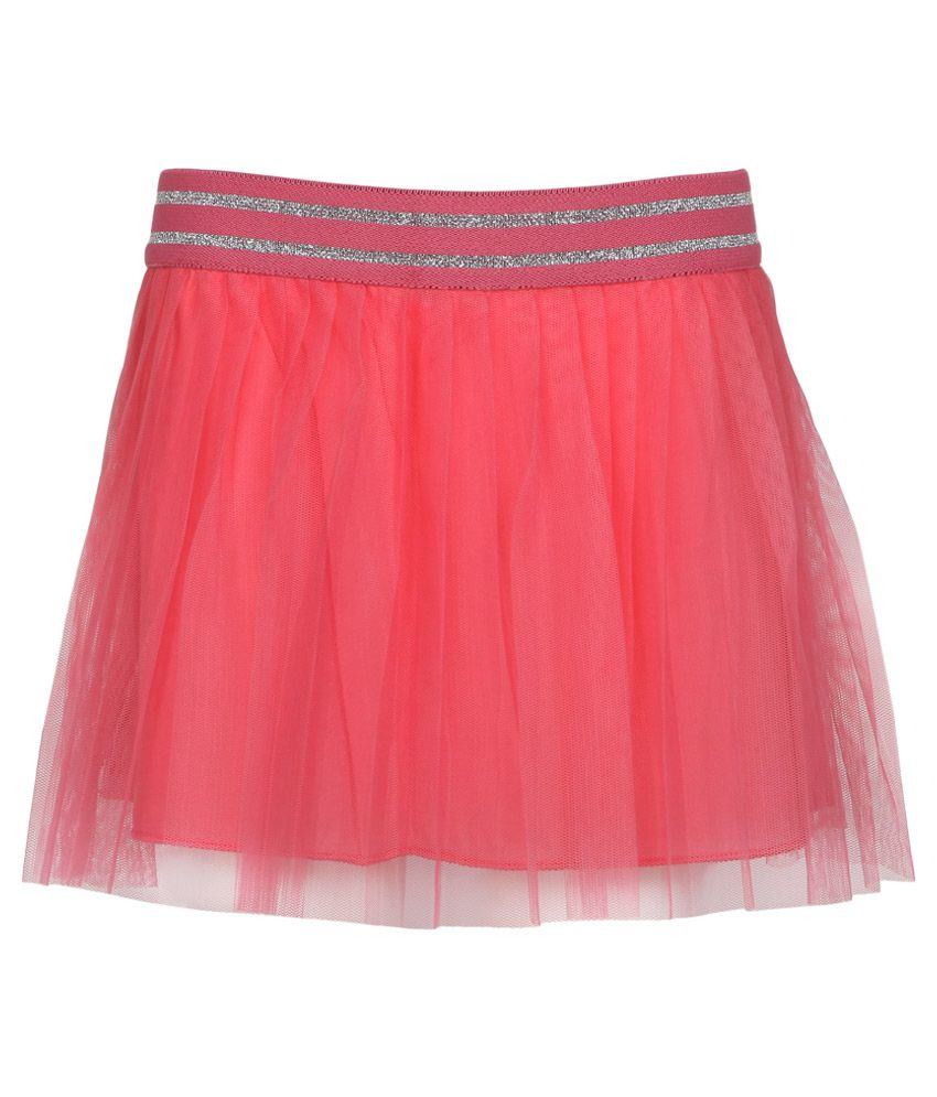 United Colors of Benetton Pink Lace Skirt