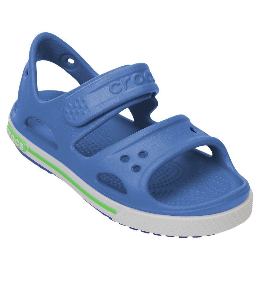 cca6d21754ef Crocs Blue Sandals For Kids Price in India- Buy Crocs Blue Sandals For Kids  Online at Snapdeal