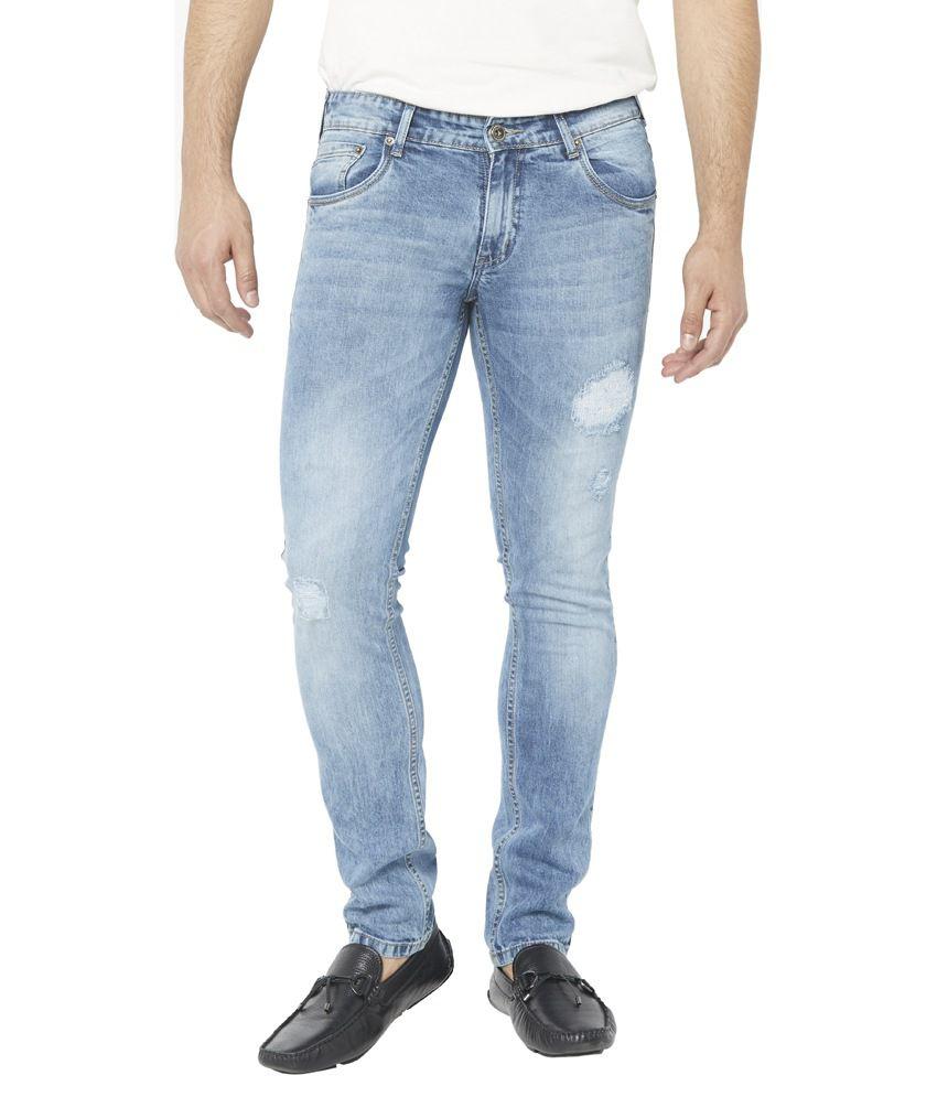 Globus Blue Slim Fit Jeans
