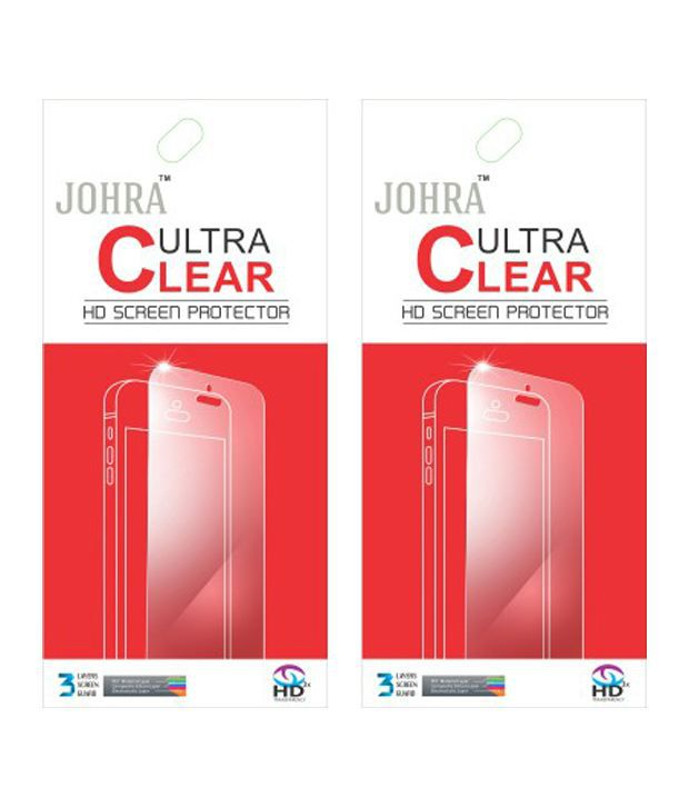 Johra Clear Screen Guard For Xiaomi Redmi Note 3 Pack Of 2