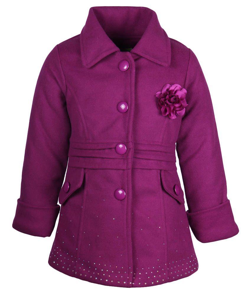 Cutecumber Purple Coat