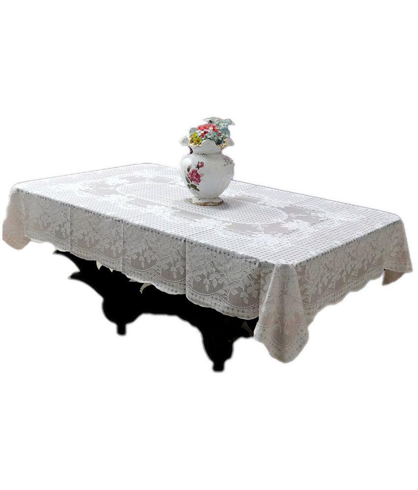 Katwa Clasic White PVC Table Cover