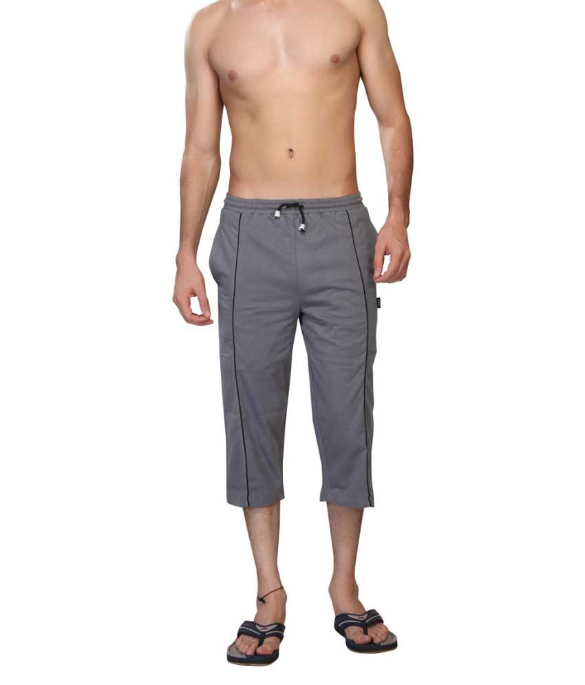 Clifton Fitness Men's Capri- Grey